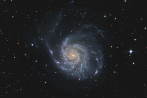 "Галактика M 101 ""Вертушка"""