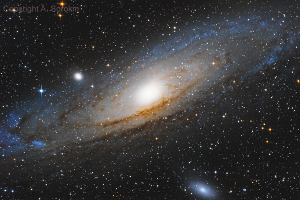 """Галактика М 31 """"Андромеда"""""""