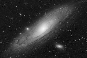 "Галактика M 31 ""Андромеда"", яркостный канал"