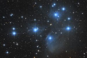 """Рассеянное звездное скопление M 45 """"Плеяды"""""""