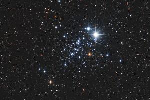 """Рассеянное звездное скопление NGC 457 """"Стрекоза"""""""