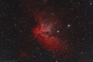 "Туманность NGC 7380 ""Колдун"""