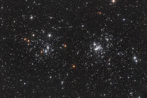 """Скопления NGC 884 и 869 """"χ и h Персея"""""""