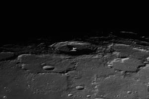 Лунный кратер Пифагор