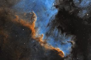 Стена в Лебеде, NGC 7000