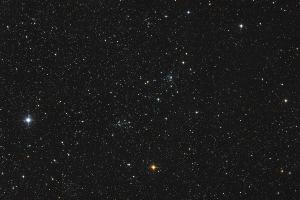 Двойное звездное скопление NGC 7788 и NGC 7790